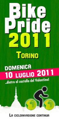 Вело парад в Турине